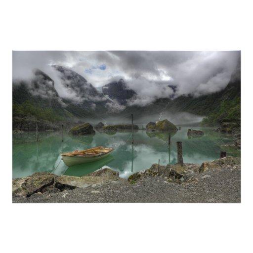 Lake Bondhus Norway Photo Print