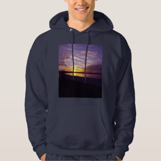 Lake_Bonney,_Australia,_Navy_Hooded_Sweatshirt Hoodie
