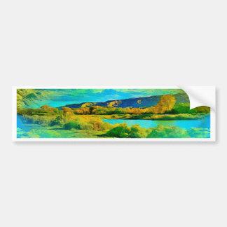 Lake Bumper Sticker