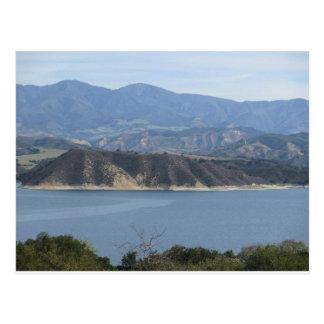 Lake Cachuma in California - Beautiful view Postcard