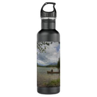 Lake Canoeing 24oz Water Bottle