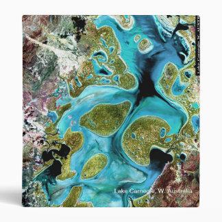 Lake Carnegie W. Australia - Notebook Vinyl Binder