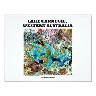 Lake Carnegie, Western Australia Card