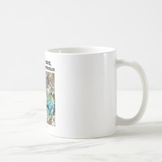 Lake Carnegie, Western Australia Basic White Mug