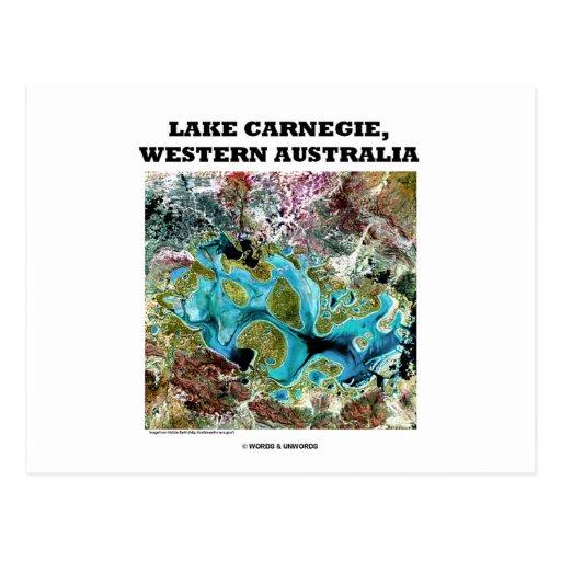 Lake Carnegie, Western Australia Postcard