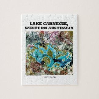 Lake Carnegie Western Australia Satellite Imagery Puzzles