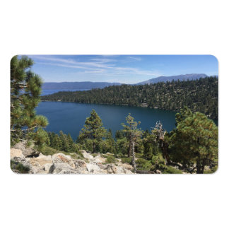 Lake Cascade In South Lake Tahoe Business Card