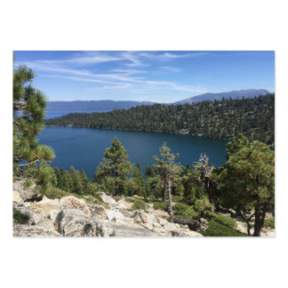 Lake Cascade In South Lake Tahoe Large Business Card