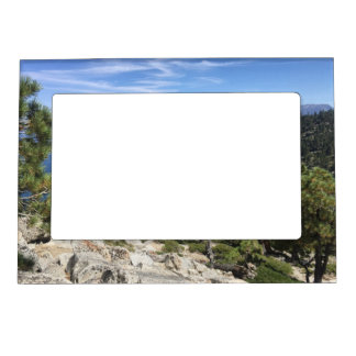 Lake Cascade In South Lake Tahoe Magnetic Photo Frame