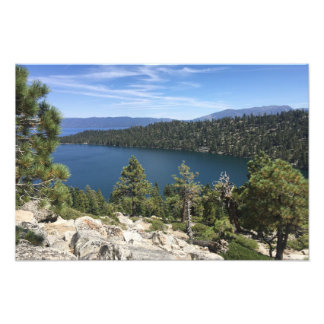 Lake Cascade In South Lake Tahoe Photo Print