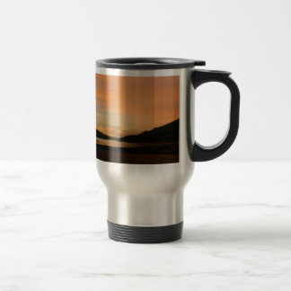 Lake Casitas Sunrise 15 Oz Stainless Steel Travel Mug