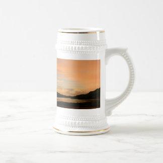 Lake Casitas Sunrise 18 Oz Beer Stein