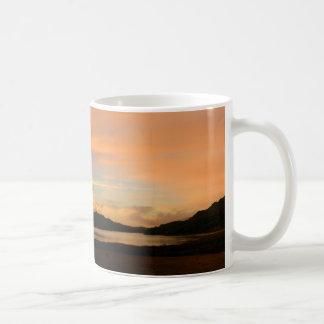 Lake Casitas Sunrise Classic White Coffee Mug