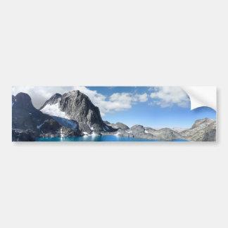 Lake Catherine and Banner Peak 2 - Sierra Nevada Bumper Sticker