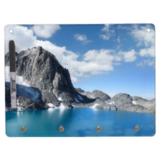 Lake Catherine and Banner Peak 2 - Sierra Nevada Dry Erase Board With Keychain Holder