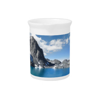 Lake Catherine and Banner Peak 2 - Sierra Nevada Pitcher