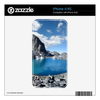 Lake Catherine and Banner Peak - Sierra Nevada Decal For The iPhone 4S
