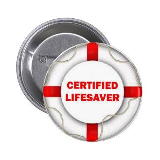 Lake Certified Lifesaver Button