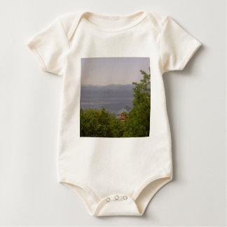 Lake Champlain from Battery Park, Burlington, VT Baby Bodysuit
