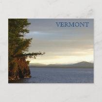 Lake Champlain from Shelburn Farms, VT Postcard