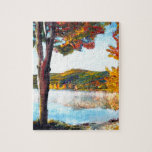"Lake Champlain Jigsaw Puzzle<br><div class=""desc"">Painting of Lake Champlain</div>"
