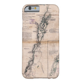 Lake Champlain Lake George Crown Point Map (1776) Barely There iPhone 6 Case