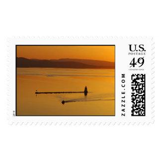 Lake Champlain Postage Stamp
