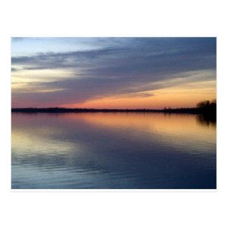 Lake Champlain sunset from Alburgh, VT Postcard