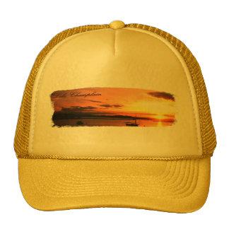 Lake Champlain Sunset Trucker Hat