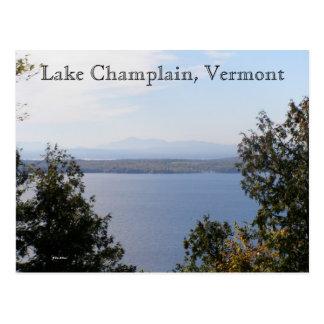 Lake Champlain, Vermont Postcard