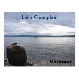 Lake Champlain Vermont Postcard