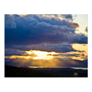 Lake Champlain Vermont Sunset Postcard
