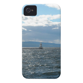 Lake Champlain with a Wind iPhone 4 Cases