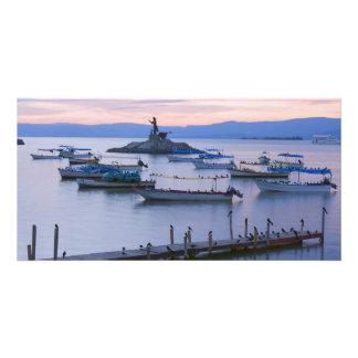 Lake Chapala and Islet Card