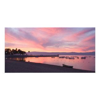Lake Chapala Sunrise Photo Card