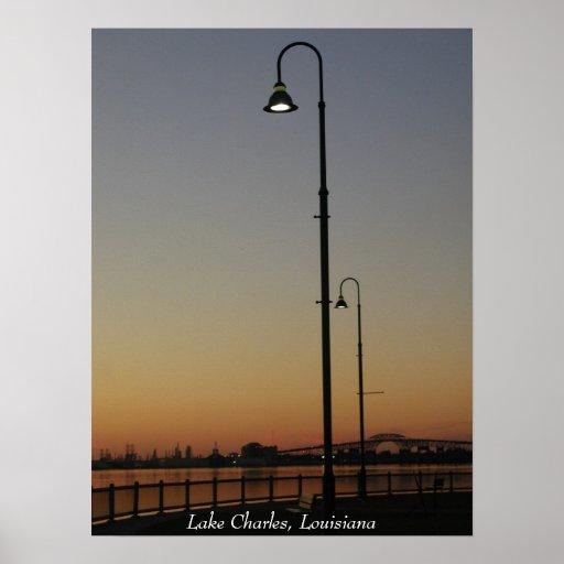 Lake Charles, Louisiana Poster