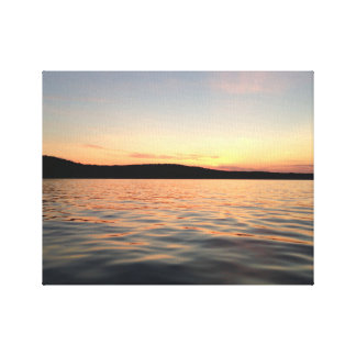 Lake Charlevoix Sunset Canvas Print