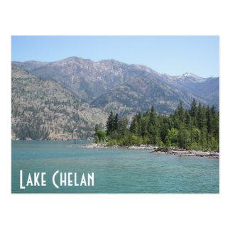 Lake Chelan Travel Photo Postcard