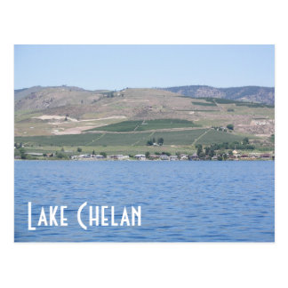 Lake Chelan, Washington Travel Photo Postcard