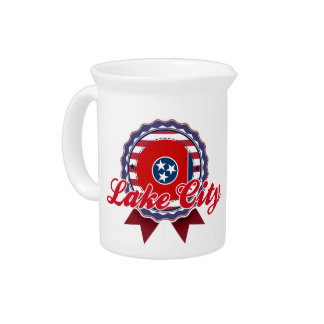 Lake City, TN Beverage Pitcher
