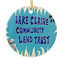 Lake Claire Christmas Ornament