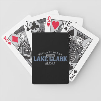 Lake Clark National Park Bicycle Playing Cards
