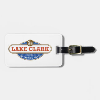 Lake Clark National Park Luggage Tag
