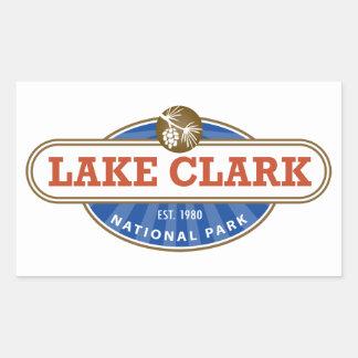 Lake Clark National Park Rectangular Sticker