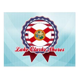 Lake Clarke Shores, FL Postcard