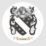 Lake Coat of Arms (Family Crest) Sticker