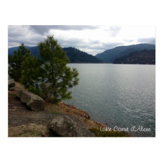 Lake Coeur d'Alene postcard