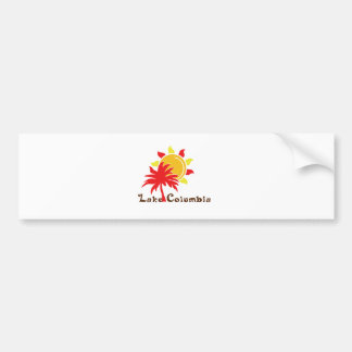 Lake Columbia Bumper Sticker
