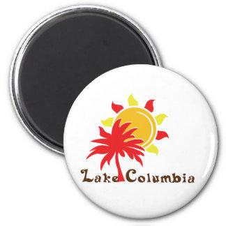 Lake Columbia Fridge Magnet