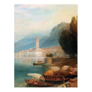 Lake Como - Birket Foster Postcard